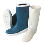 Astron White boots